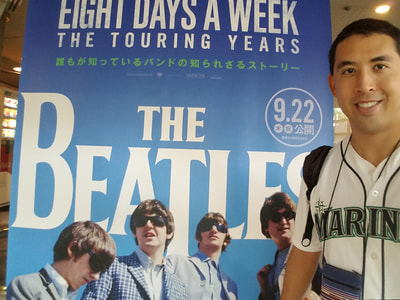 The Beatles are a huge musical and artistic inspiration to Rob Kajiwara.